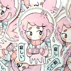 Space Sticker via Nemupan. Click on the image to see more!