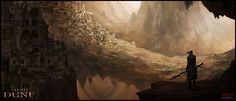 """The settings and characters in Frank Herbert's Dune are so vivid, it's hard to do justice to them on the screen. But looking at these amazing """"speed-paintings"""" by concept artist Mark Molnar is enough to make you wish they'd try again."""