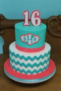 Coral and teal Cake - - Yahoo Image Search Results