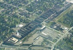 packard plant and more aerial shots, 2004