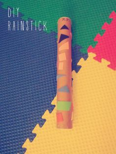DIY Toddler Activity: Make Your Own Rainstick | Hellobee