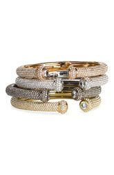 Nordstrom: Nadri Allover Pave Hinged Cuff ...LOVE THESE!!