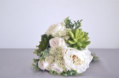 Artificial Wedding Bouquets, Wedding Flowers, Floral Wreath, Wreaths, Bridal, Beautiful, Floral Crown, Door Wreaths, Deco Mesh Wreaths