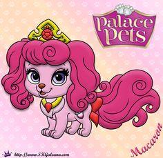 Princess Palace Pets Coloring Page of Macaron | SKGaleana