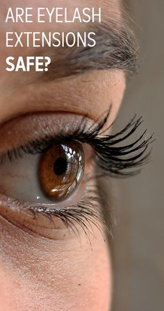 Eyelash extensions a
