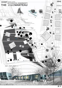 Architectural drawing - site plan