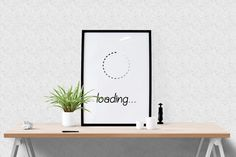 Loading... Large wall art, Home poster, Word art, Quote print, Living room wall art, Office decor, Minimalist poster, Large Print