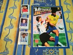 WORLD CUP 1994 USA 94 Ed.Estadio empty album+full complet set stickers no Panini