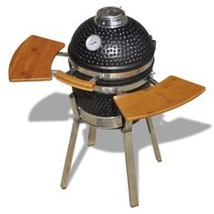New Kamado Barbecue Grill BBQ Grill Smoker Cooking Appliance Ceramic 76 cm in Garden & Patio, Barbecuing & Outdoor Heating, Barbecues   eBay