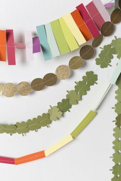 Two St. Patrick's Day Garland Ideas