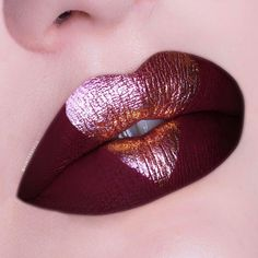 Make your Cupid's bow look like it was struck by a, well, Cupid's bow.