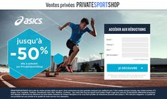 PrivateSportShop landing design for asics product Triathlon, Site Sport, Snowboard, Rugby, Asics, Landing, Web Design, Swimming, Handball