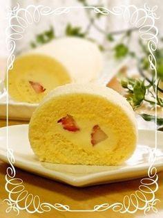 Moist+Fluffy+Roll+Cake