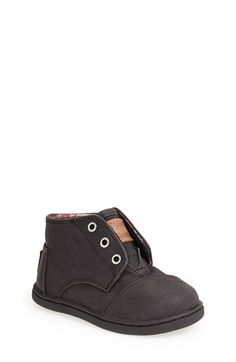 TOMS 'Paseo - Tiny' Mid Bootie (Baby, Walker & Toddler) available at #Nordstrom Love these for Fall !!