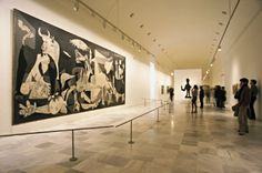 Guernica - I stood right here in 2013 and looked at it with tears in my eyes....Magnificent! Di