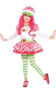 Strawberry Shortcake Wig for Girls - Party City