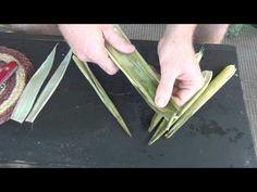 Corn Husk Basket Weaving Part 1 of 3- YouTube. I'll never look at corn the same again.