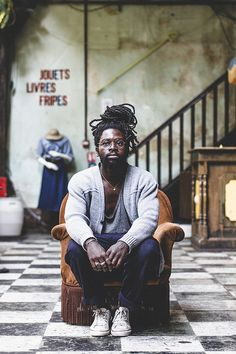 Guy Style: Dayal, photo by Jérémy Barniaud #man #artist #lifestyle #paris #dread