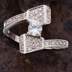 horseshoe nail wedding ring