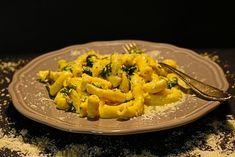 Selbstgemachte Pasta mit Gorgonzola und Spinat Sauce #selbstgemacht #Food #Italy