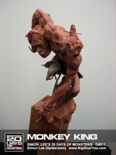 The Art of Simon Lee - Spiderzero - Concept Artist, Creature Designer, Sculptor, teacher Simon Lee, Pacific Rim Kaiju, Zbrush Character, Character Reference, Art Nouveau, Monkey King, Sculpture Clay, Art Sculptures, Sketch Inspiration