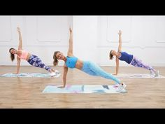 No-Equipment Toning and Calorie-Burning Workout From Anna Victoria - FlawlessEnd 30 Min Workout, Toning Workouts, Workout Challenge, Workout Videos, Fun Workouts, Exercises, Daily Workouts, Cardio Pilates, Kettlebell Cardio