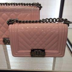Chanel Boy Chevron Flap Bag