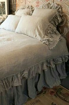 Oh-so-beautiful French inspired bed linens!