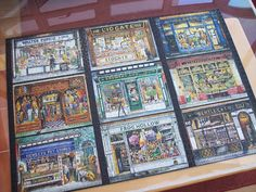 Old fashioned shop fronts jigsaw. One of the nicest I've ever done. Feb 13, Shop Fronts, Jigsaw Puzzles, Gallery Wall, Frame, Home Decor, Picture Frame, Decoration Home, Room Decor