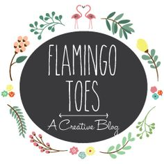 Carved Heart Ornament -Flamingo Toes