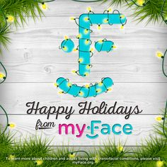 Happy #Holidays from the myFace family. Wishing you all a joyous #Holiday season! #happyholidays #thisismyFace #itstheholidays #tistheseason #happymonday  #christmas #chiristmaslights #nonprofitorganization #holidaygreetings #graphicdesign