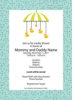 blank baby shower invitations | Free Printable Baby Shower ...