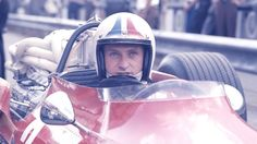 Chris Amon during his first season with Ferrari. He scored four podium finishes.