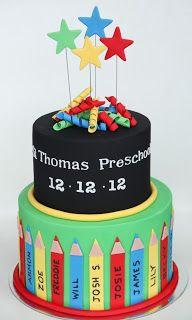 Sugar Creation: Preschool Graduation Cake