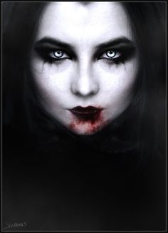 Portrait of a Vampire by SavanasArt