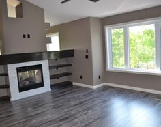 McGonigal Signature Homes   Agreage. Grey Laminate FlooringGrey Hardwood FloorsFloor  DesignFlooring IdeasLiving Room DesignsGray FloorIdeas ...