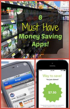 My Top 8 Favorite Money Saving Apps! Here are 8 of my favorite Must Have Money Saving Apps! I have mentioned a few phone apps before. I really like using the coupon apps – they're so easy to use . Money Saving Tips, Saving Money Ways To Save Money, Money Saving Tips, How To Make Money, Money Savers, Money Tips, Mo Money, Managing Money, Planning Budget, Meal Planning