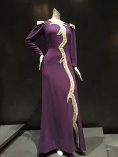 Elsa Schiaparelli, 1938 designed for Mae West for the movie, Every Day's a Holiday