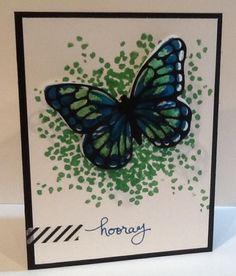 Sheltering watercolor wings by stamperdoodle - Cards and Paper Crafts at Splitcoaststampers