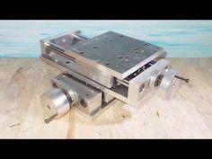 DIY XYZ Slide Stage Table Homemade Milling Lathe CNC Machine PCB Press D...