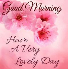 Have A Very Lovely Day days floral good morning morning images good morning greetings daily morning quotes Good Morning Tuesday, Good Morning Cards, Morning Morning, Good Morning Happy, Good Morning Flowers, Good Morning Messages, Good Morning Wishes, Morning Humor, Happy Tuesday