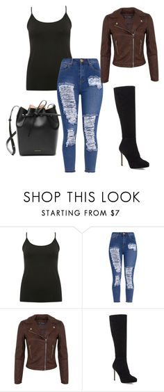 """""""Night out"""" by madzzbrookez on Polyvore featuring M&Co, Miss Selfridge, Jimmy Choo and Mansur Gavriel"""