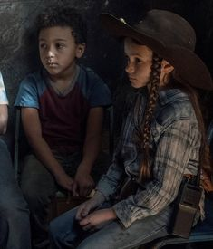 """""""the grimes children are honestly so powerful i feel like a proud mother"""" Judith Twd, Judith Grimes, Carl Grimes, The Walking Dead 2, Walking Dead Tv Series, Rick And Michonne, Dead Inside, Daryl Dixon, Movies And Tv Shows"""