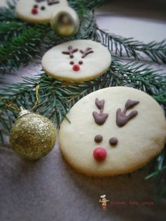 Moje Wypieki | Waniliowe kruche ciasteczka z Rudolfem