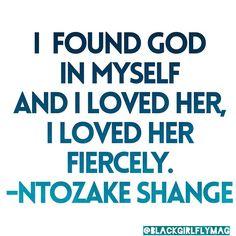 ntozake shange quotes - Google Search