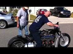 V8 Corvette Engine Motorcycle - http://www.vespa2013.com/motorcycle-videos/v8-corvette-engine-motorcycle.html
