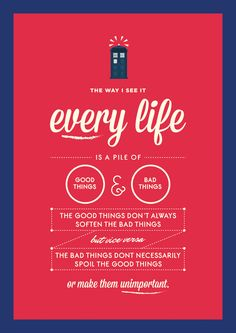 life according to Dr. Who