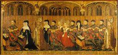 La famille Jouvenel des Ursins, mid 1400s, Chapel St Remi, Notre Dame de Paris