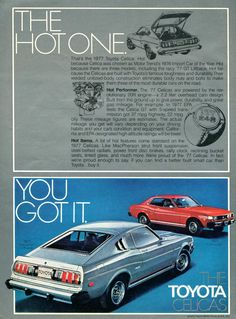 Vintage Ad Toyota