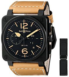 Discover a large selection of Bell & Ross BR Chronographe watches on - the worldwide marketplace for luxury watches. Compare all Bell & Ross BR Chronographe watches ✓ Buy safely & securely ✓ Bell Ross, Breitling Watches, Men's Watches, Wrist Watches, Discount Watches, Mens Watches Leather, Luxury Watches For Men, Unique Watches, Automatic Watch